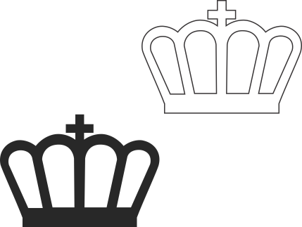 Molde de coroa para EVA - Feltro e Artesanatos11