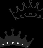 Molde de coroa para EVA - Feltro e Artesanatos14