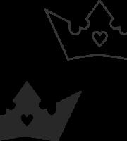 Molde de coroa para EVA - Feltro e Artesanatos15