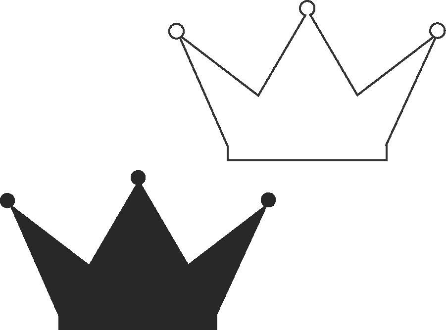 Molde de coroa para EVA - Feltro e Artesanatos18