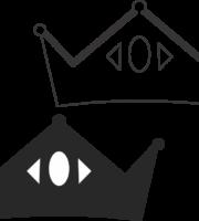 Molde de coroa para EVA - Feltro e Artesanatos19