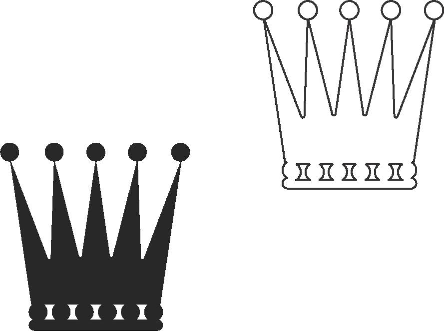 Molde de coroa para EVA - Feltro e Artesanatos20