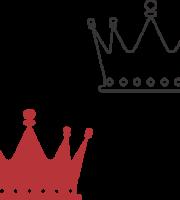 Molde de coroa para EVA - Feltro e Artes