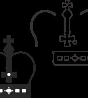 Molde de coroa para EVA - Feltro e Artesanatos9
