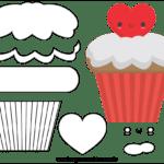 Molde do Dia dos Namorados para Feltro – EVA e Artesanato 9