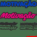 Moldes de Palavras Motivacionais – 1