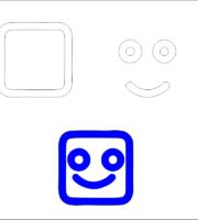 modelo para Eva-Feltro e artesanatos de sorriso 3