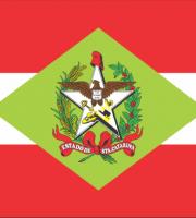 BANDEIRA DO BRASIL - DO ESTADO DE SANTA CATARINA EM VETOR, JPG, PNG, EDITÁVEL 28