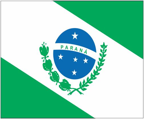 BANDEIRA DO BRASIL - DO ESTADO DO PARANÁ EM VETOR, JPG, PNG, EDITÁVEL 24