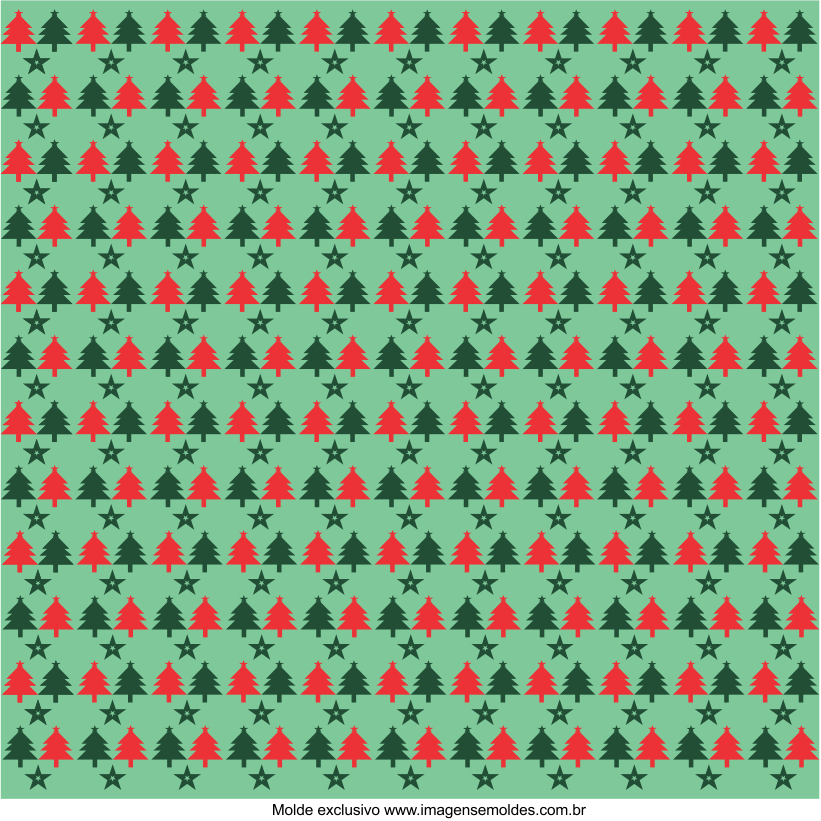 Papel Digital Árvore de Natal