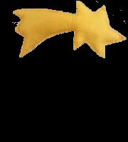 Molde de Natal para E.V.A Feltro e Artesanato - Estrela 2