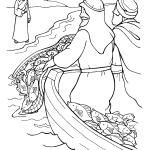 Desenhos Bíblicos para Colorir Jesus e os Discípulos
