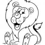 Desenhos para Colorir de Leão