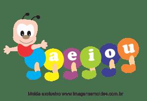 Molde para Escola - Centopeia - para EVA, Feltro e Artesanato