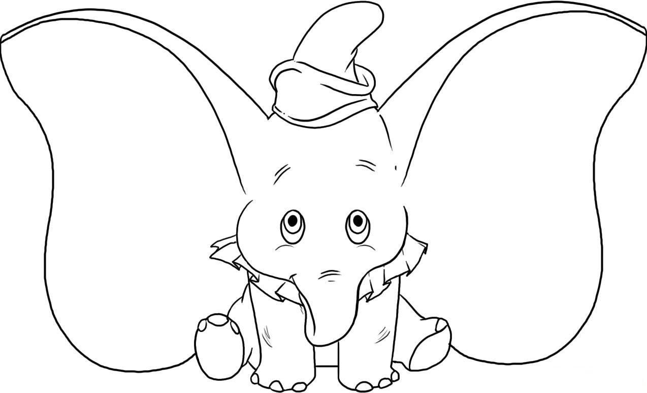 Desenhos Para Colorir Dumbo