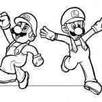 Desenhos Para Colorir Mario Bros
