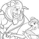 Desenhos para Colorir Princesa Bella