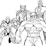 Desenhos Para Colorir Os Vingadores