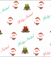 papel digital de feliz natal