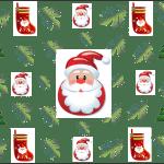 Papel Digital de papai Noel
