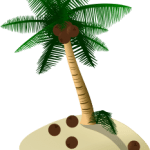 Coqueiro vetorizado 01