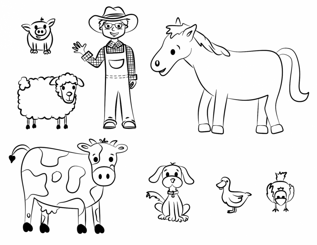 Desenhos De Animais Para Colorir: DESENHOS PARA COLORIR DE ANIMAIS