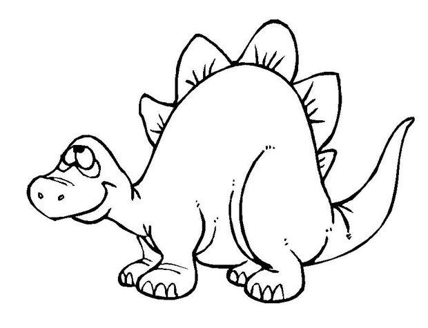 desenhos para colorir dinossauro