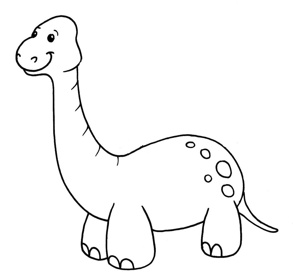 desenhos para colorir de dinossauros