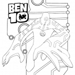 Desenhos para Colorir do Ben 10
