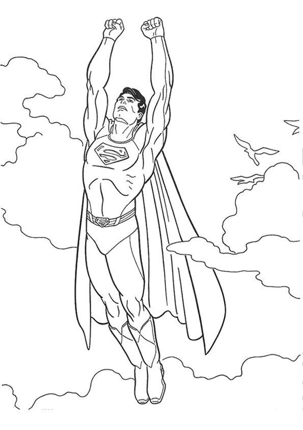 Desenhos para colorir do superman - Coloriage a imprimer batman gratuit ...