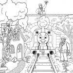 Desenhos para Colorir do Thomas e Seus Amigos