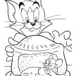 Desenhos para Colorir do Tom e Jerry