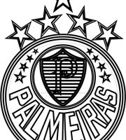 EMBLEMA DO PALMEIRAS DE SÃO PAULO-SP PARA COLORIR 15