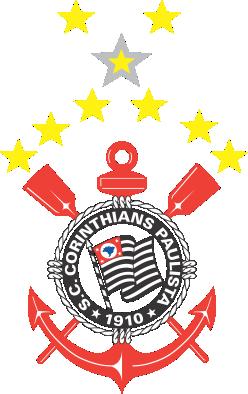 EMBLEMA DO S.C. CORINTHIIANS PAULISTA DE SÃO PAULO-SP EM VETOR, JPG, PNG, EDITÁVEL 10