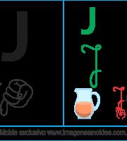 Imagens, Cartazes de Letras em Libra Letra J - Letra J Alfabeto