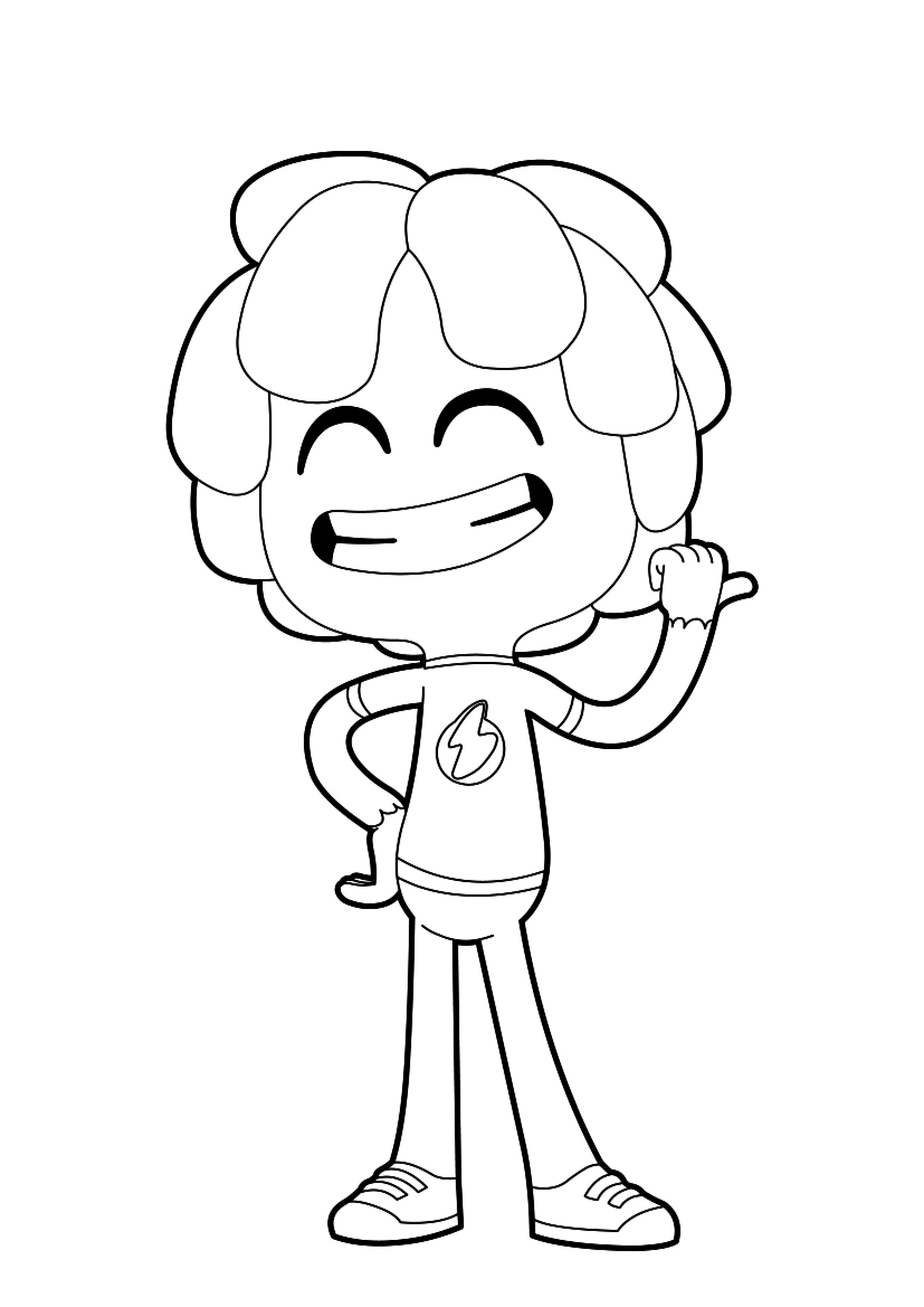 desenhos para colorir jelly jamm