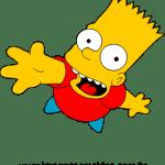 Bart Simpson vetorizado 01