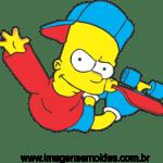 Bart Simpson vetorizado 03