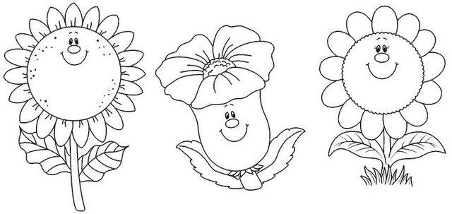 desenhos para colorir desenhos de flores para colorir crianÇas