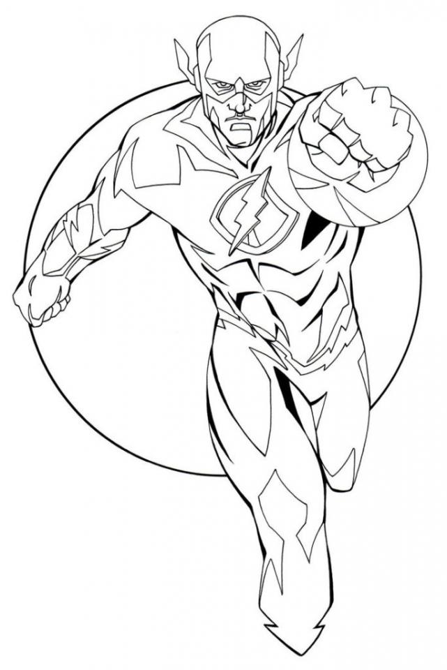 desenhos para colorir flash