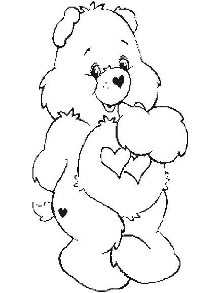 Desenhos para colorir ursinhos carinhosos - Dessin bisounours ...
