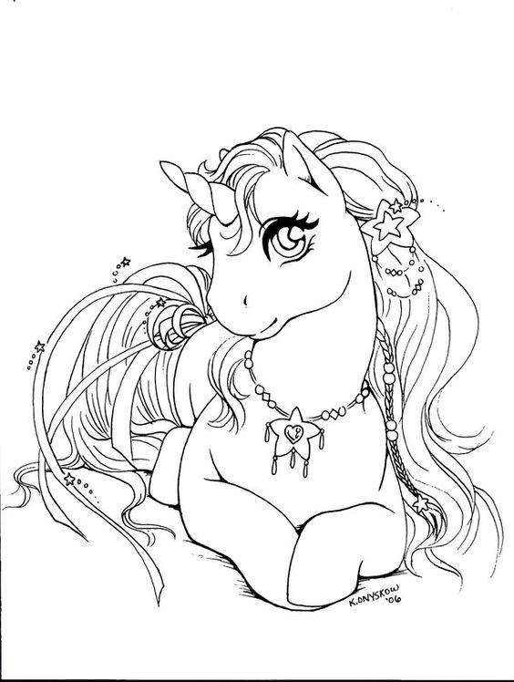 Separamos Lindos Desenhos De Unicornio Para Colorir