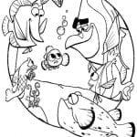 Desenhos para Colorir Procurando Nemo