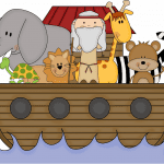 Imagem Arca de Noé – Background 3 PNG – para Personalizados