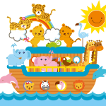 Imagem Arca de Noé – Background 4 PNG – para Personalizados