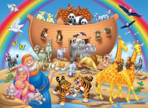 Imagem Arca de Noé - Background - Personalizados