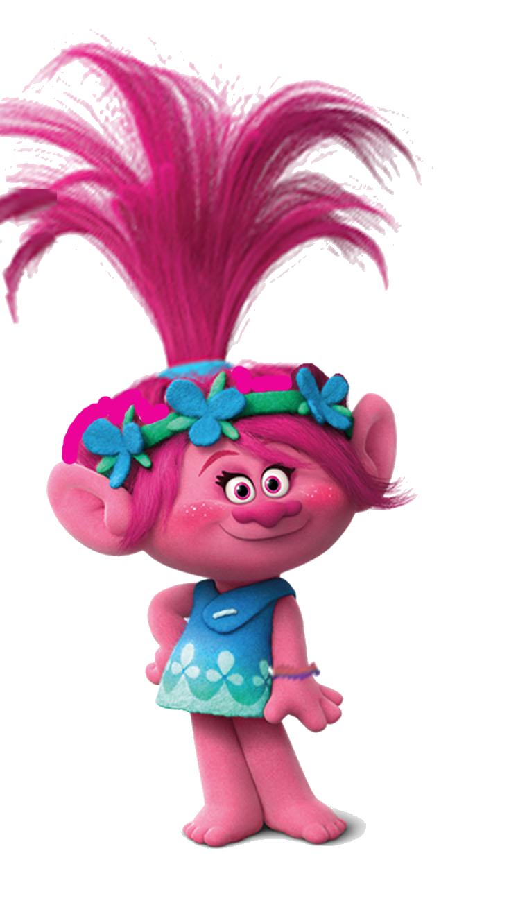 Imagem poppy trolls 02 Personagens Filme Trolls