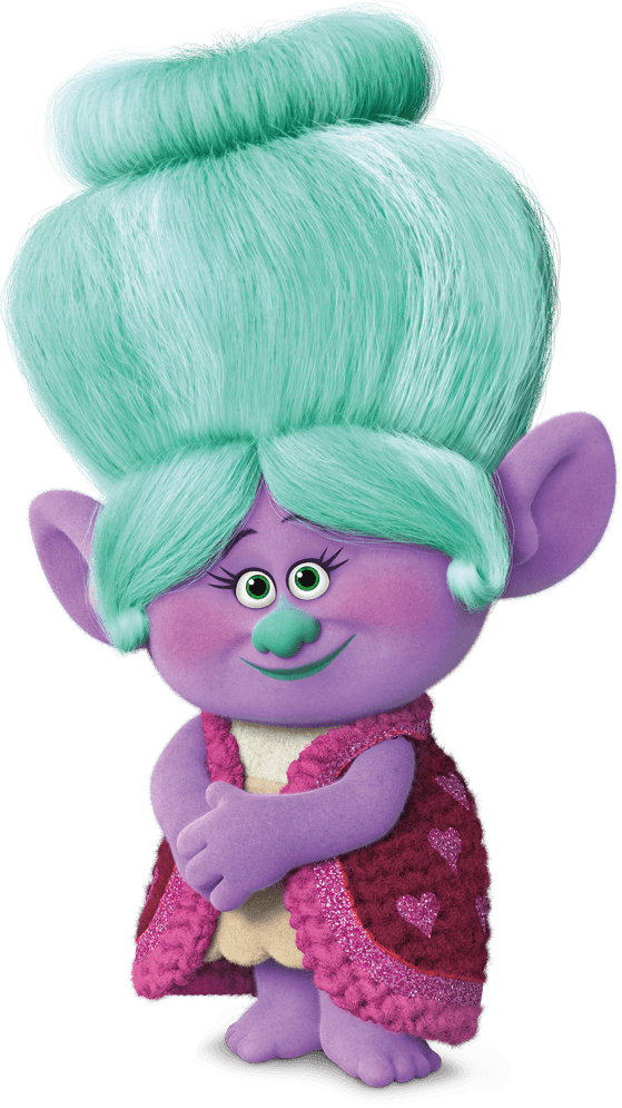 Imagem vovó Rosepuff trolls 01 personagens filme