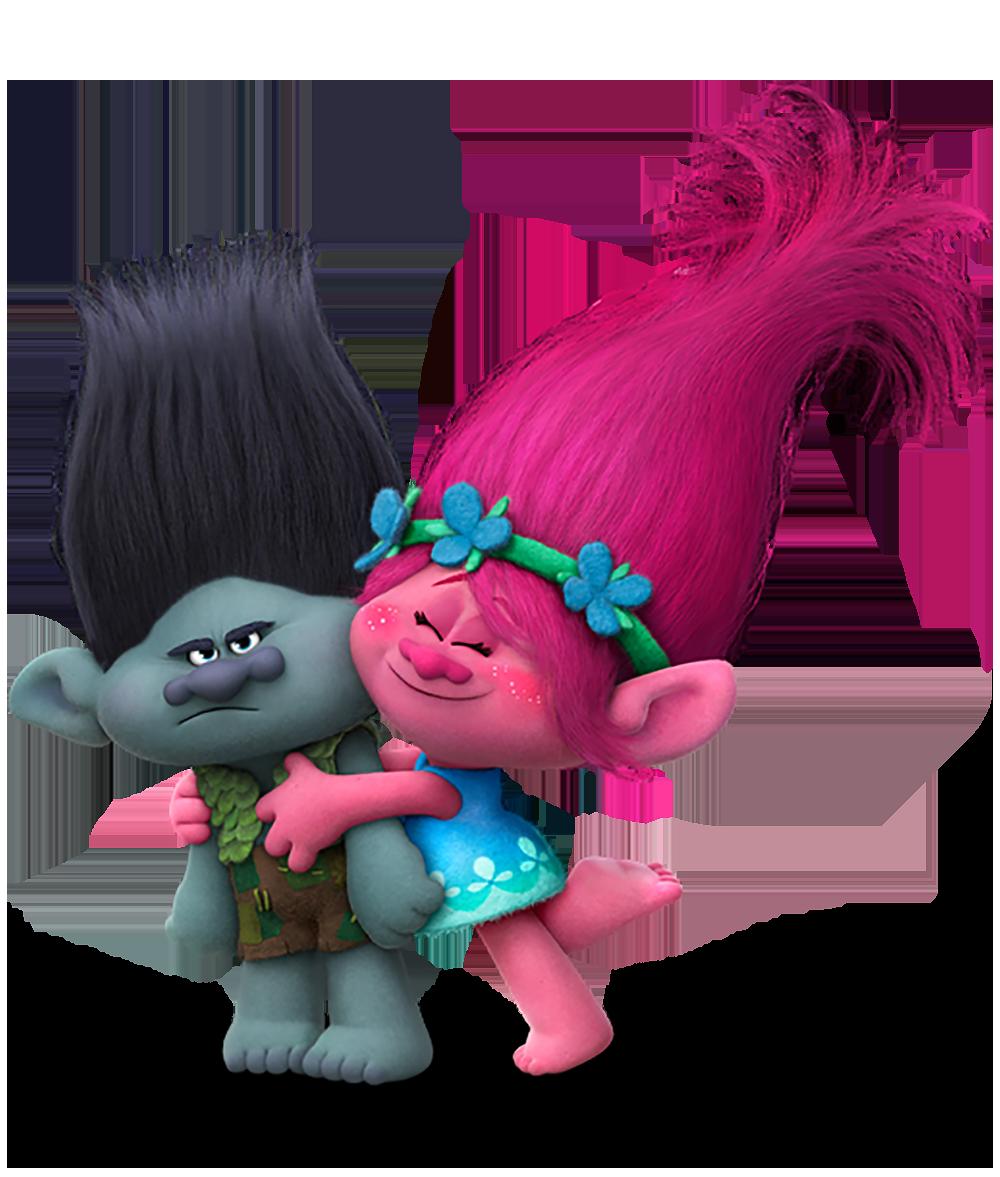 Imagens poppy e branch trolls png