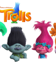 Images Trolls logo 02 - Personagens do Filme Trolls